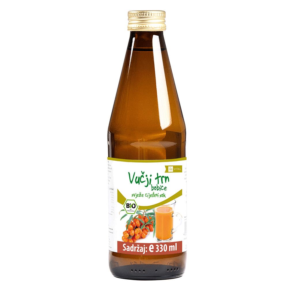 Vučji trn sok za ljepotu kože